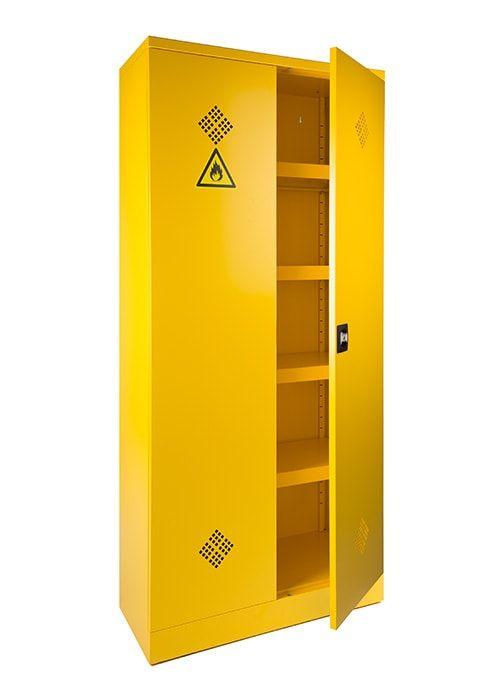 Broecan Umweltschrank Gelb 195hx92bx43t