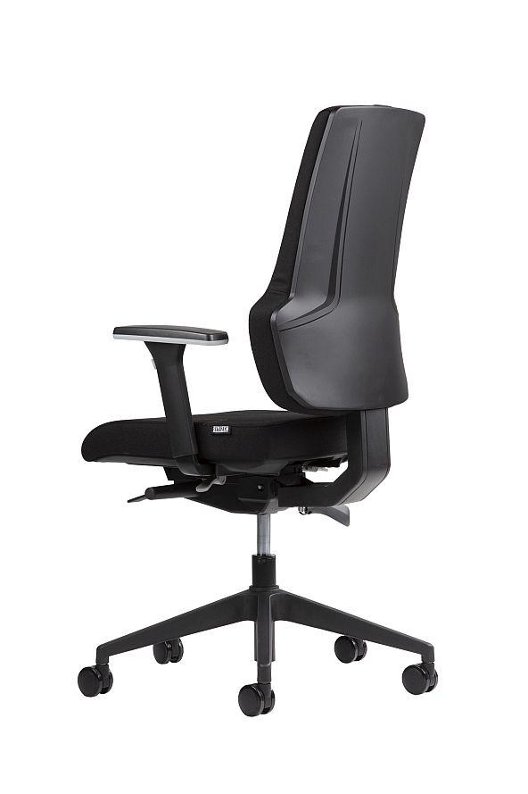Broecan Bürodrehstuhl ER3-B Fußkreuz schwarz Eur 389,00