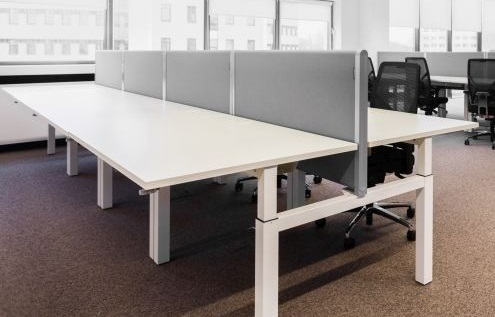 Broecan Sitz-Steh DUO Schreibtisch EHV 65-130cm