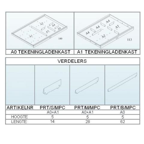 Broecan Zeichnungschrank A1