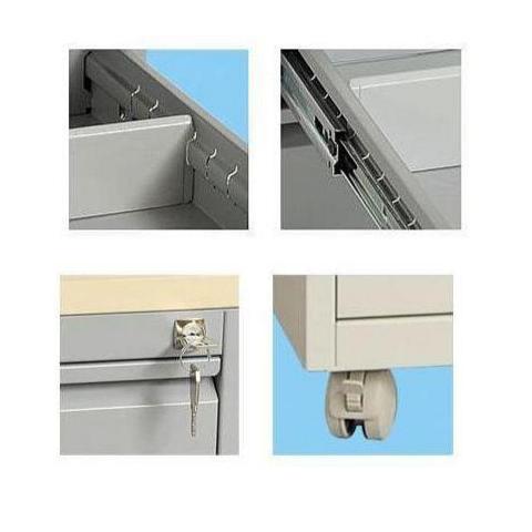Broecan Rollcontainer MPG 60/80t 2/3 Schubladen