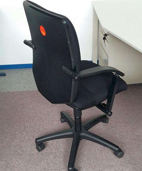 Bürodrehstuhl Martin Stoll Tec21 NS schwarz
