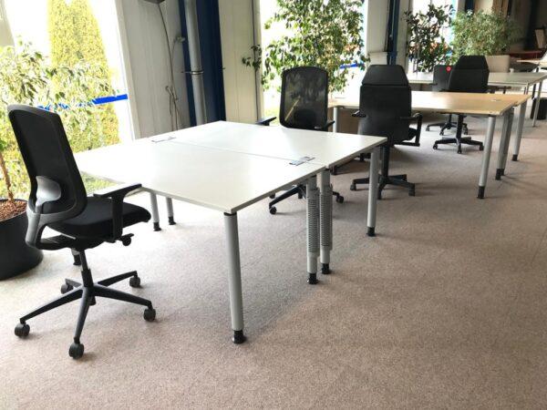 OKA Schreibtisch R60 160×80 ahorn-alu